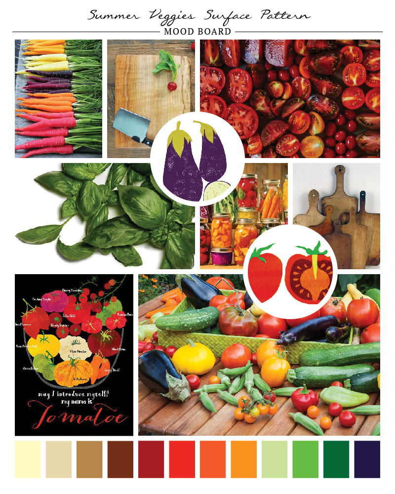 Portfolio elements - Summer Veggies-01