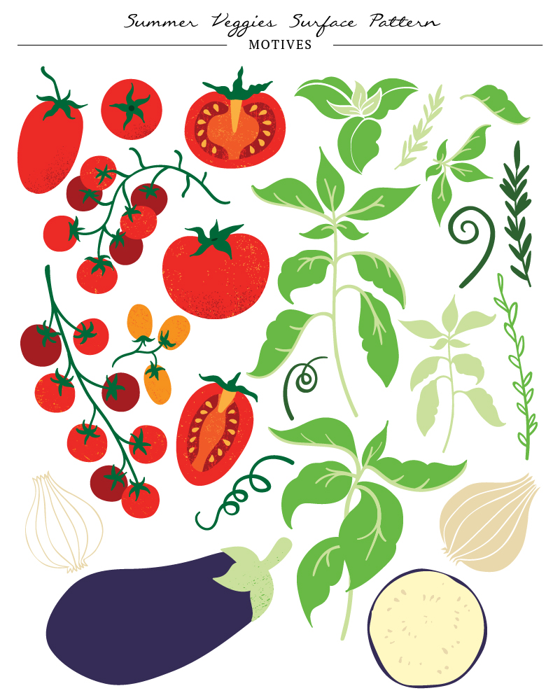 Portfolio elements - Summer Veggies-03