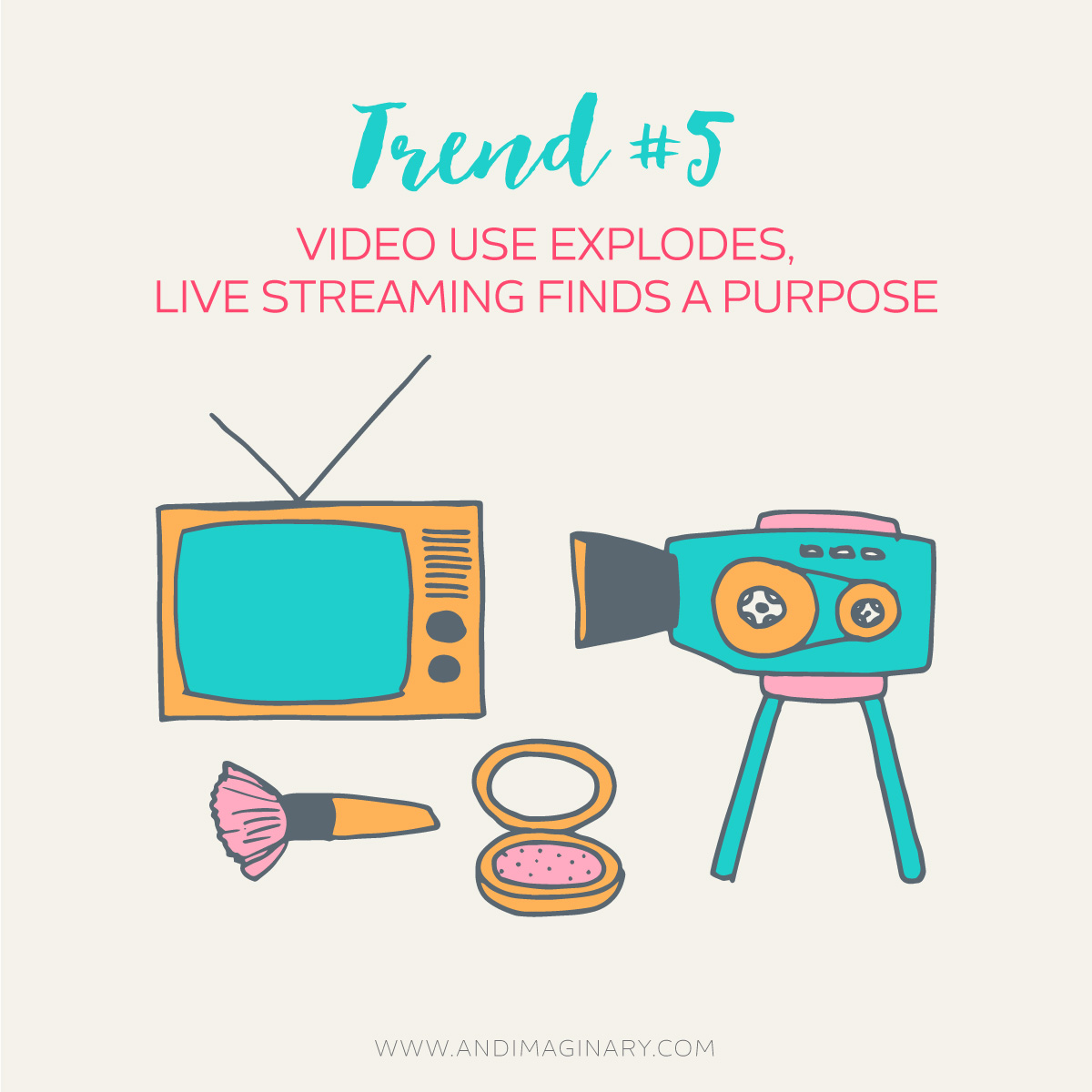 Branding trends 2016 - Importance of video - Andimaginary Design