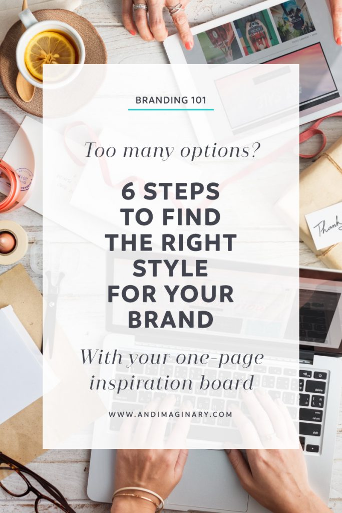 Inspiration boards help you set a clear direction for your branding. But what happens when you have way too much inspiration? How do you narrow down to only use the best content? | Branding | Inspiration Board | Mood Board | Brand Style