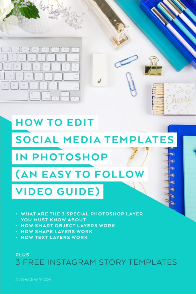 The Easy Guide of Customizing Social Media Templates in Photoshop with just a few simple clicks