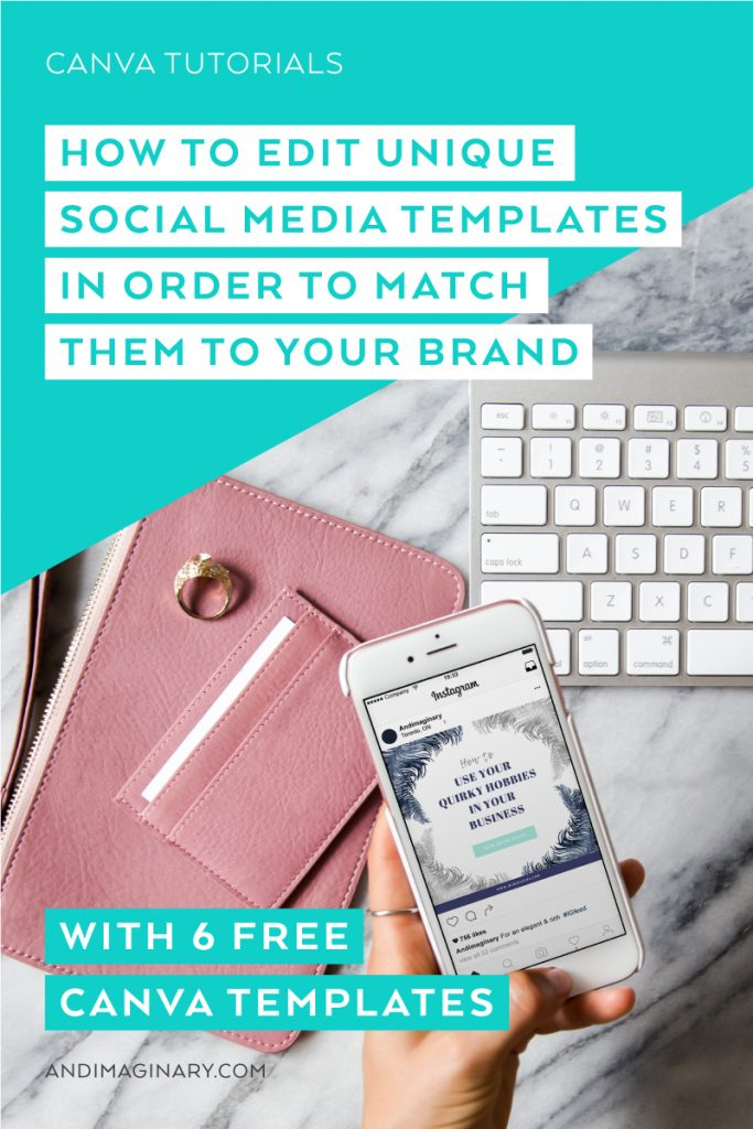 How to edit social media templates in Canva and easily match them to your brand visuals