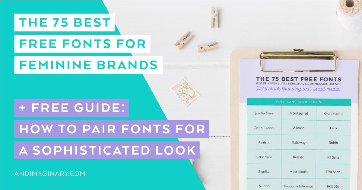 The 75 best free fonts that won't kill your computer but elevate