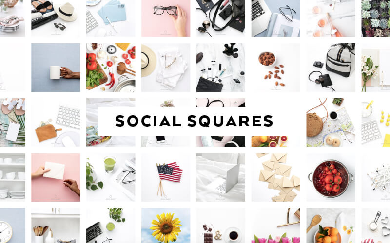 The Best 15 Sites for paid and free stock photos for feminine brands - Social Squares
