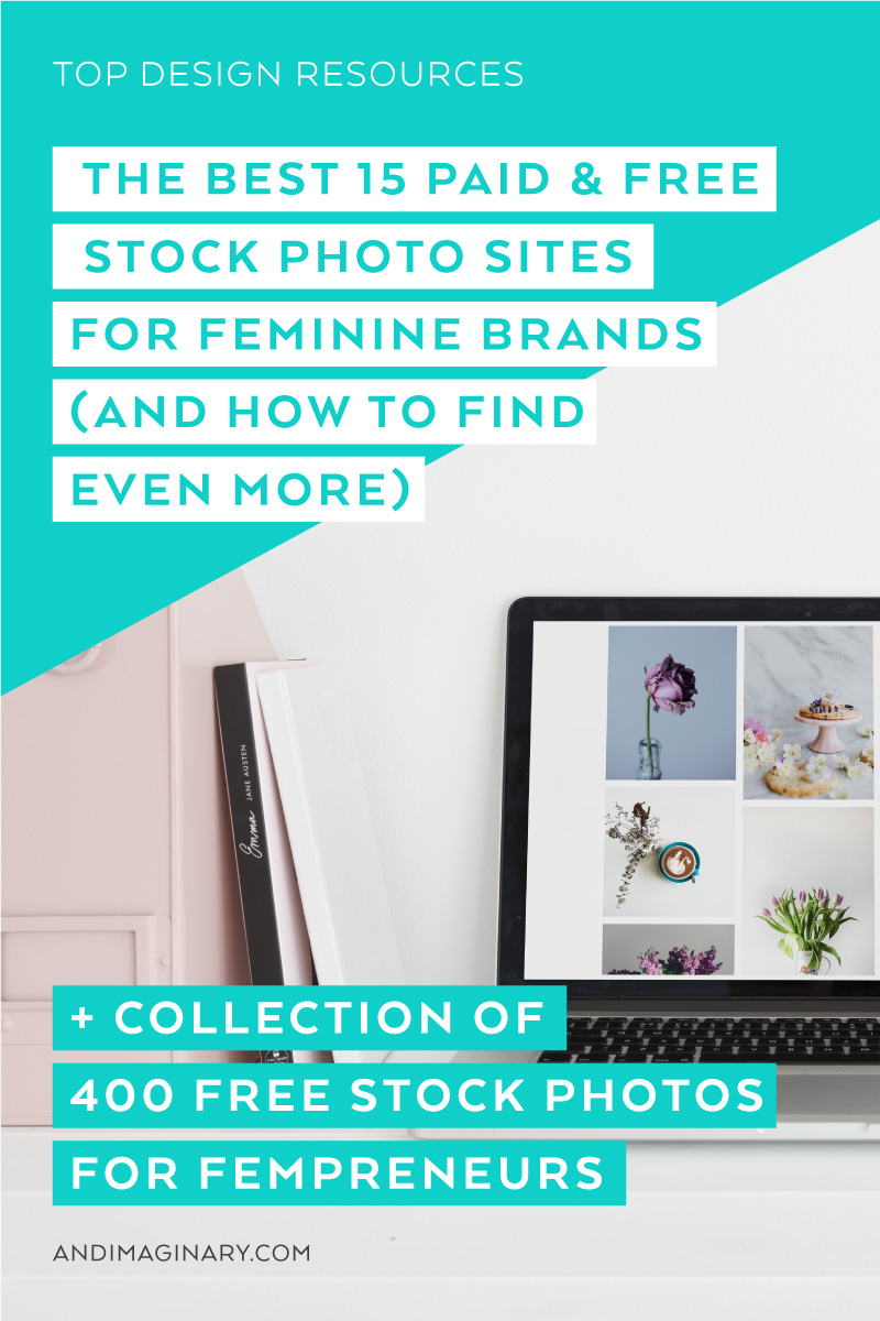 The Best 15 Sites for paid and free stock photos for feminine brands