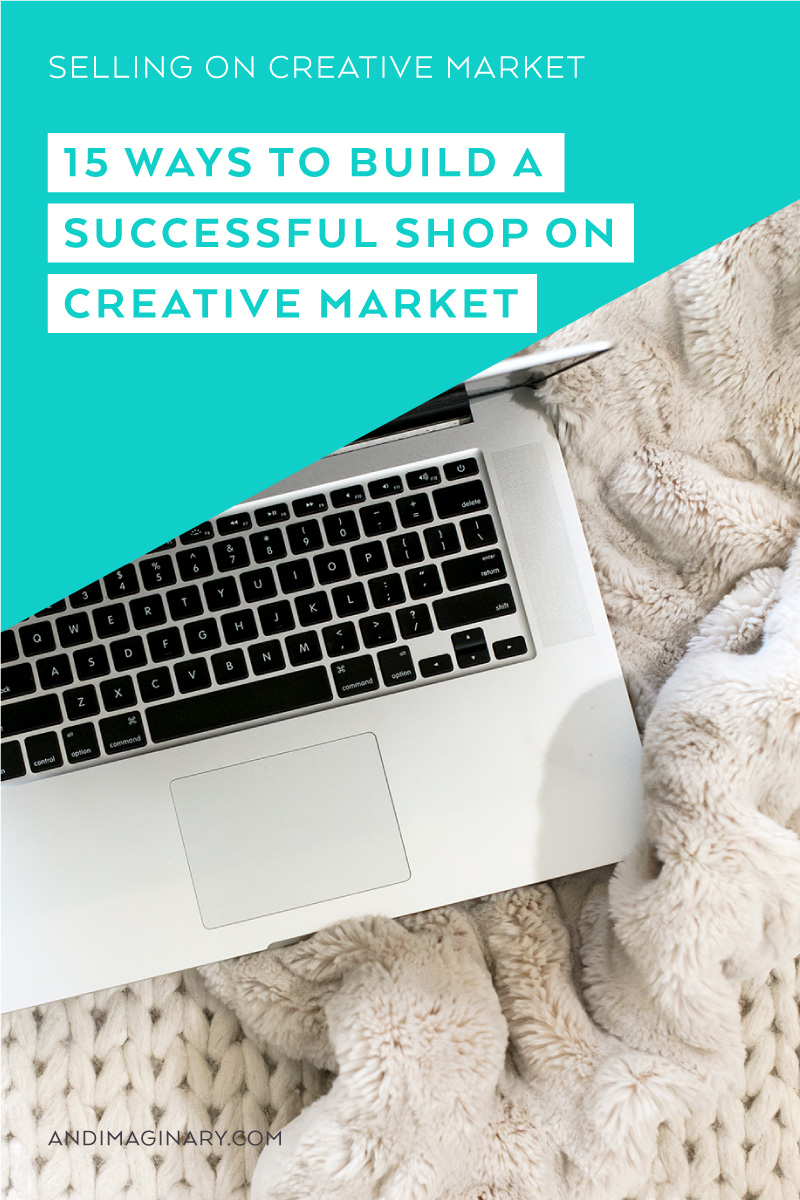 My 15 key takeaways from 2 years as a Creative Market shop owner