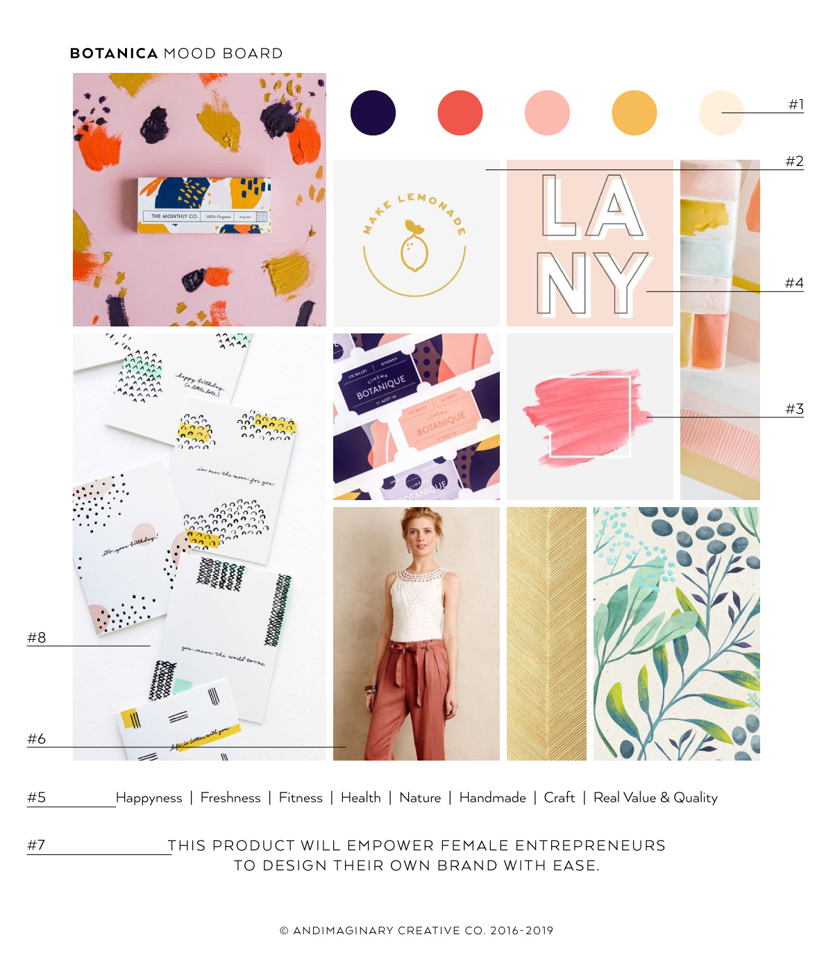 What to include on your brand mood board