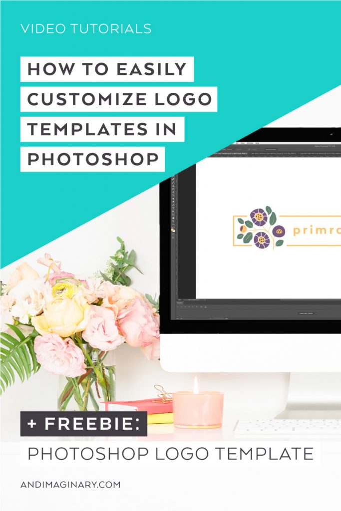 How to customize logo templates in Photoshop