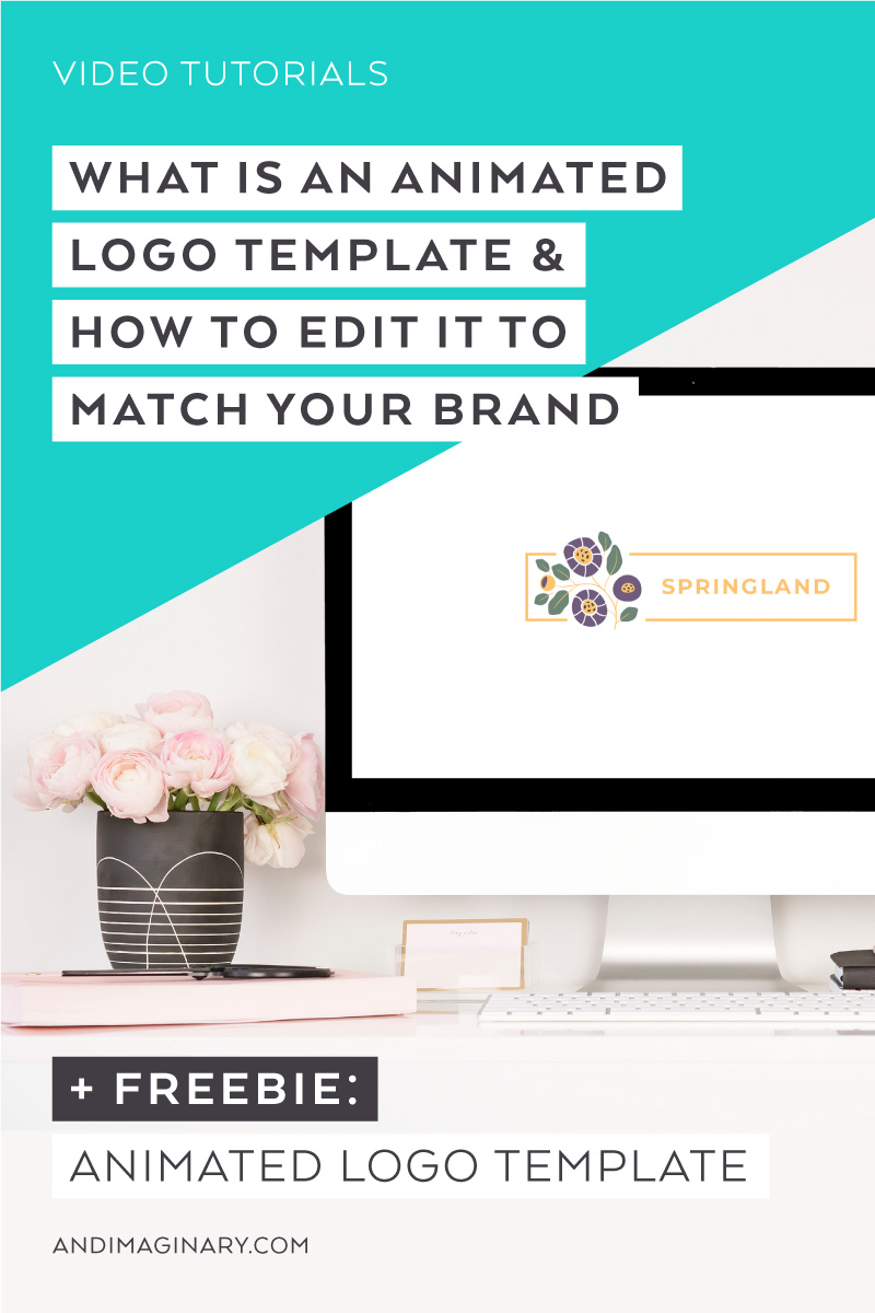 What is an animated logo and how to customize animated logo templates in Photoshop