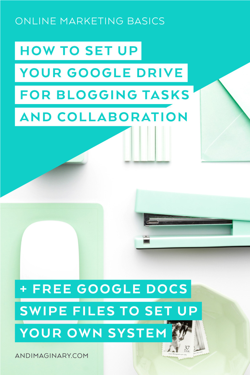 How to set up Google Drive to optimize your blogging process and collaboration