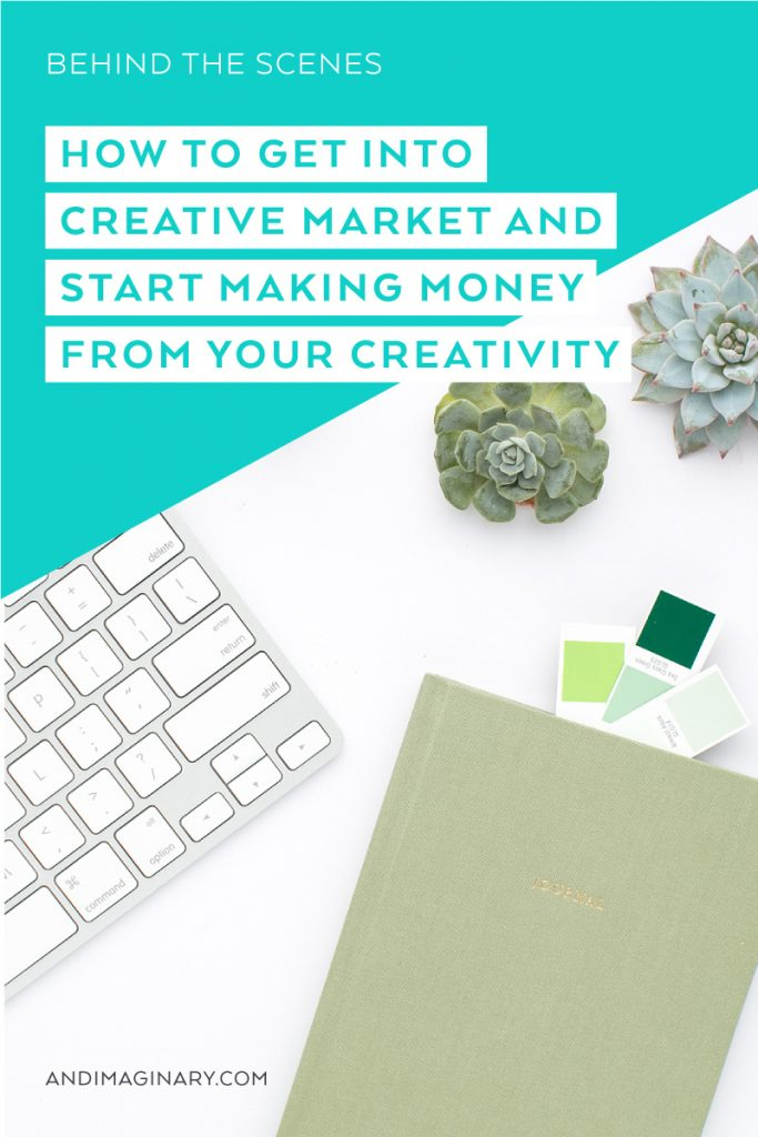 I show you the key steps to get approved to open your Creative Market shop