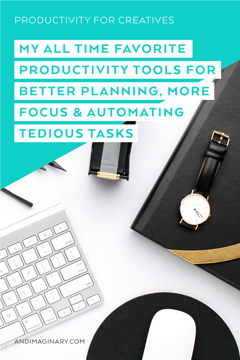 The best productivity tools for better planning, more focus and automating tedious, repetitive tasks