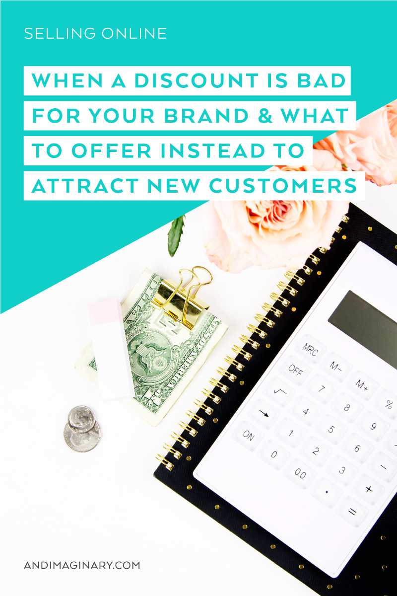 Sometimes discounts do not fit fit your brand. Here are some alternate methods to attract new customers