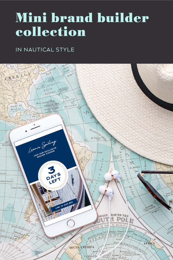 mini brand builder collection in nautical style