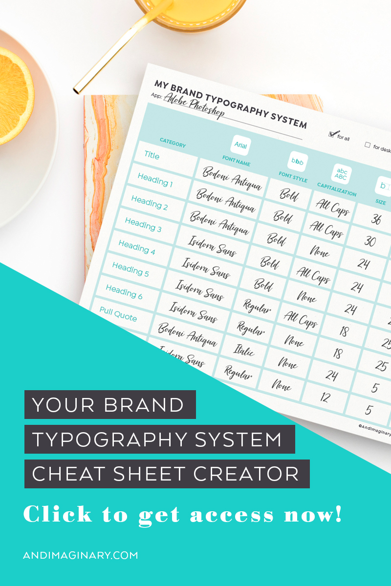 How to create your brand typography system