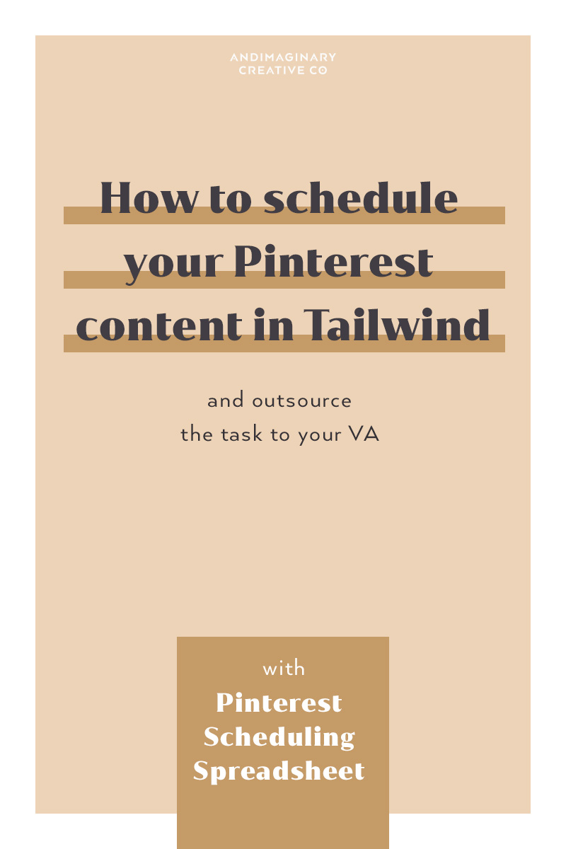 How to schedule your pins with Tailwind and save time